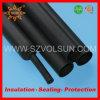 Tubazione resistente termoresistente nera dello Shrink