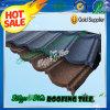 Tuile de toit enduite en métal de vente de l'Afrique de construction de sable chaud de matériau