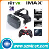 Google Cardboard Fiit 2n Plastic 3D Vr Virtual Reality Glasses+Gamepad