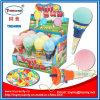 Пластичная Pop-up игрушка мороженного с пробкой конфеты