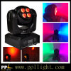 diodo emissor de luz Wash Moving Head Light de 8PCS 8W Two Side RGBW