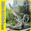 304 modernos feito-à-medida escultura inoxidável do aço de Corten do jardim