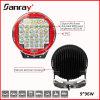 9 lumière d'entraînement du CREE LED 96W LED de pouce 3W