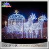 عيد ميلاد المسيح قرع حصان حجر السّامة [كرّيج] خارجيّ [لد] زخرفة ضوء