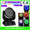 36PCS LED Moving Head Light RGBWA+UV met Zoom