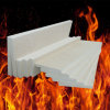 Panel de fibras de cerámica del material de aislante