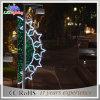 Luces de calle de interior y al aire libre del tiempo del día de fiesta de la decoración LED de la Navidad