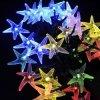 Starfish 30 света шнура СИД светов праздника сада RGB солнечного Fairy напольных