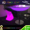 Im Freien LED runde Tabelle der LED-Bankett-Tabellen-Glühen-Möbel-