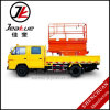 La venta loca de Anhui Jeakue de vehículos Scissor la plataforma de funcionamiento aérea de la elevación
