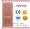 Posição interior e de porta do MDF pele moldada HDF/MDF da porta do folheado do material