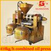 De hoogste Machine van de Pers van de Olie van de Sesam van de Verkoop Automatische Koude met Olie Fitler Yzlxq140
