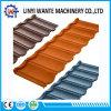 建築材亜鉛シートの石によって塗られる金属の結束の屋根瓦