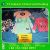 Maglietta lunga d'abbigliamento dei vestiti usati utilizzata vendita calda