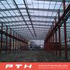 Il professionista ha progettato la struttura d'acciaio industriale prefabbricata per il magazzino