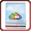 Спираль - связанный Printable ультрамодный календар таблицы