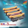 Cartucho de toner compatible del color del HP Ce250X Ce250A Ce251A Ce252A Ce253A de la alta calidad