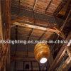 Luzes onduladas do pendente da suspensão de papel do estilo do vintage para a decoração
