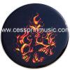 カラードラムヘッド/ドラムヘッド製造業者のCessprin卸し売り音楽(DH-04)