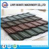 Tipo clásico azulejo de azotea de aluminio revestido del metal de la piedra