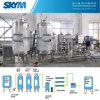 Système à deux étages de filtration de traitement des eaux d'osmose d'inversion