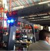 Parte anteriore o indicatore luminoso montato parte posteriore del punto blu del LED