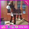 Лошадь для 1 годовалого, лошадь звука лошади 2017 оптовых продаж деревянная тряся новой конструкции деревянная тряся для 1 годовалого W16D094