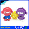 100% Real Capacity Fashion Music Man Mémoire USB Stockage