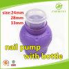 노출량 0.6ml 24 병을%s 410의 플라스틱 제거제 못 펌프