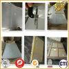 Hoja rígida clara del PVC del plástico 4X8 de Jinfeng
