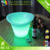 El sostenedor de consumición del sostenedor de botella de vino del LED LED enciende para arriba el sostenedor del vino