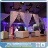 安い結婚式の管は飾り布サポートをおおい、