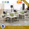 Modern L forma Divisão de Escritório Mesa de escritório (HX-NJ5137)