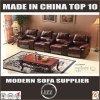 Sofà di cuoio 4 Seater della mobilia della Cina del sofà del Recliner del coperchio
