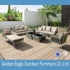 Cappotto di alluminio L sofà P-S0254 stabilito della polvere del patio di figura