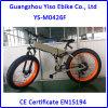Bicicleta eléctrica de la suspensión completa de la montaña con el neumático 4.0