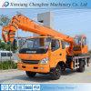 Asta usata idraulica nuovo camion della gru di stato di 8 tonnellate con altezza di sollevamento di 20-30m
