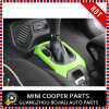 Cubierta verde material del sostenedor de Cover&Cup del engranaje de la rotación de estilo del ABS del accesorio auto para el modelo renegado (2PCS/SET)