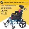 Горячая кресло-коляска Cp церебрального паралич детей верхнего качества сбывания складная алюминиевая облегченная для детей под 3 летами старыми