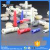 Винты пластмассы расширяя для типа 6 углов