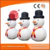 Muñeco de nieve inflable de la Navidad que hace publicidad de la decoración H1-104