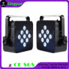 9PCS 5en1 Batería & Wireless LED plana PAR