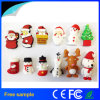 Cadeau de Noël Santa Claus Real Capacity 4GB USB Flash Drive