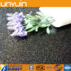 Plancher de vinyle de tuiles de PVC d'étincelle de blanc et de noir