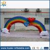 Qualität 2016, die aufblasbaren Regenbogen-Torbogen für Verkauf bekanntmacht