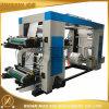 Tipo económico cuatro maquinaria de impresión de Flexo del color con el rodillo de acero de Anilox