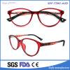 Eyeglasses redondos do frame plástico clássico novo da Cheio-Borda do projeto para adolescente