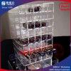 Étalage acrylique de Tansparant pour le rouge à lievres