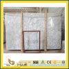 Galette de marbre blanche Polished de Venato Carrare pour la partie supérieure du comptoir/le dessus/plancher de Vanitoy
