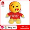 Jouet mou de peluche d'Emojis de jouets de gosses de caractères neufs de baiser